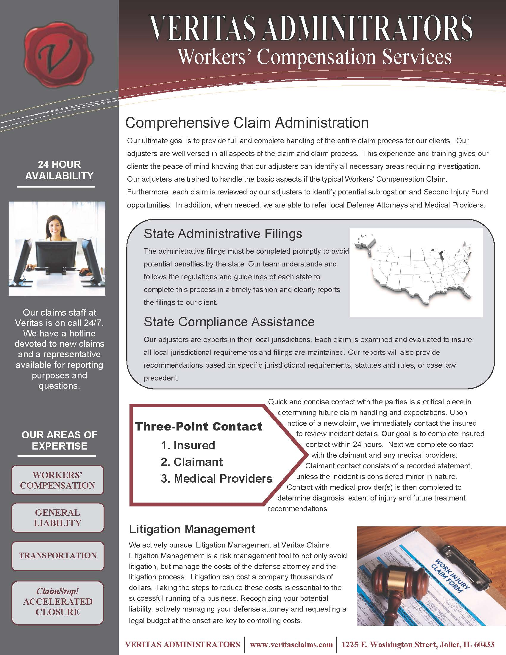Workers Compensation Claim Administration