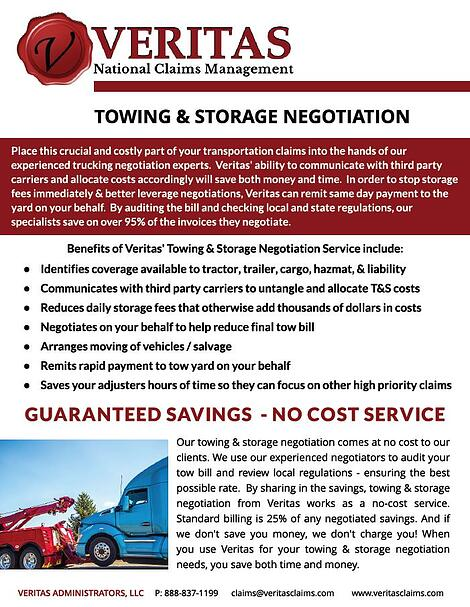 Tow and Storage Brochure