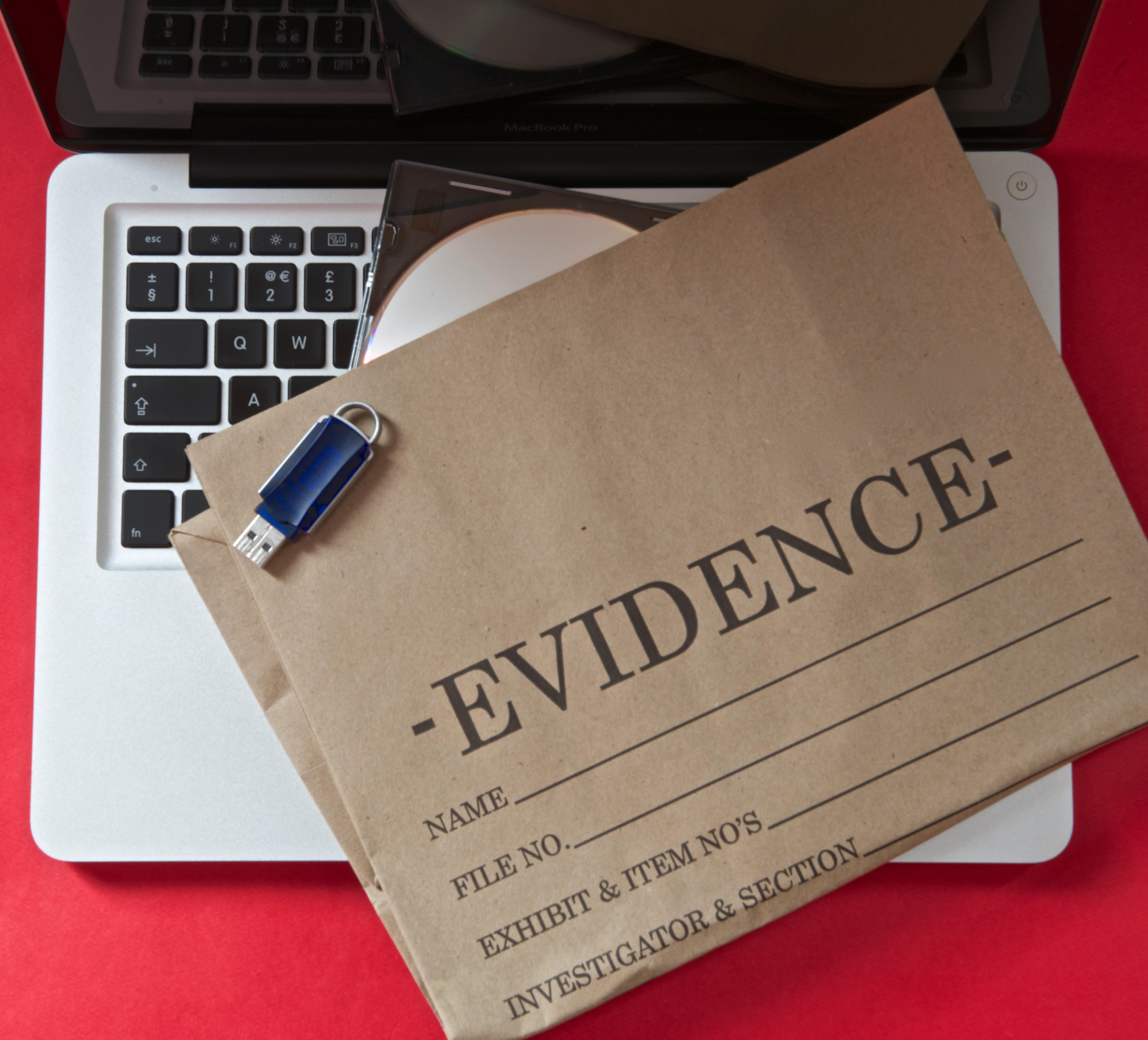 Preserving evidence