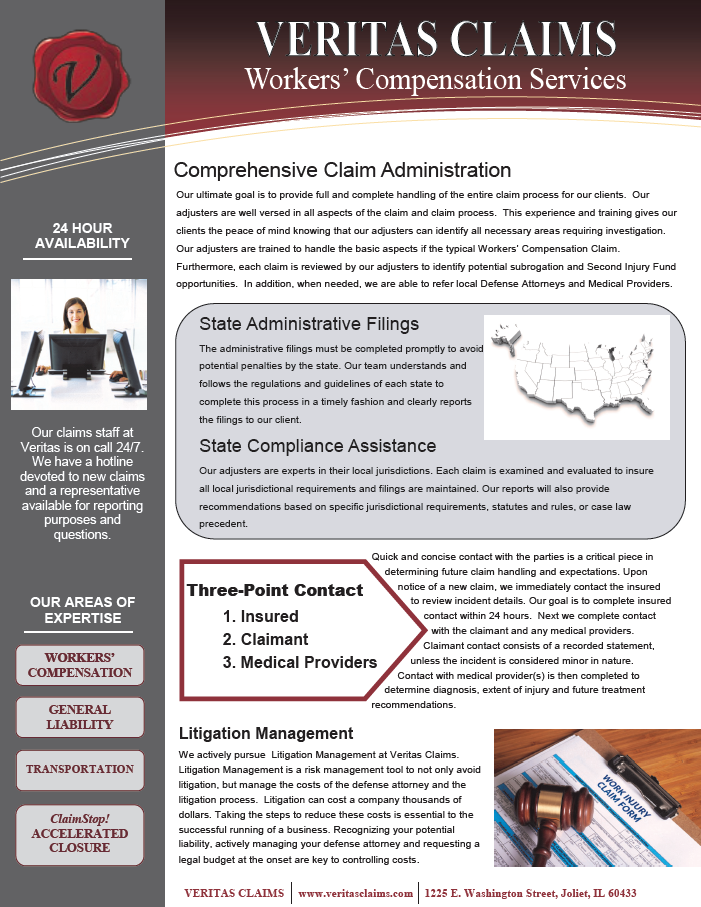 Workers Compensation Claim Services